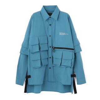 エルエイチピー(LHP)のDankeSchon ダンケシェーンNS CARGO SHIRTSカーゴシャツ(シャツ)