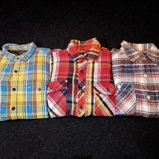 アバハウス(ABAHOUSE)の厚手 ネルシャツ 3枚セット(シャツ)