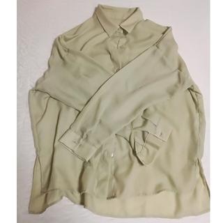 ジーユー(GU)のシャツ ピスタチオカラー(シャツ/ブラウス(長袖/七分))