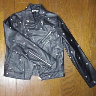 ジディー(ZIDDY)のZIDDY ライダース ジャケット 150(ジャケット/上着)