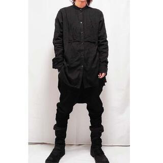 ヨウジヤマモト(Yohji Yamamoto)のヨウジヤマモト S'YTE プリーツオーバーシャツ 4(シャツ)