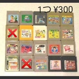 ゲームボーイ(ゲームボーイ)のゲームボーイカセット 18個セット売り(家庭用ゲームソフト)