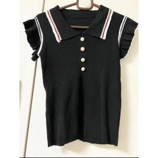 ゴゴシング(GOGOSING)の韓国アイドル風ニット(Tシャツ(半袖/袖なし))