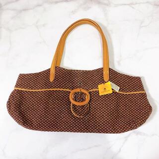 トプカピ(TOPKAPI)のtopkapi トプカピ 牛革 茶色 トートバッグ ハンドバッグ(トートバッグ)