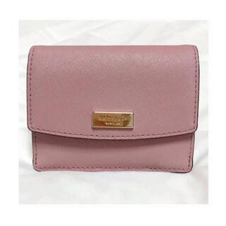 ケイトスペードニューヨーク(kate spade new york)のケイトスペード  ピンク ミニ財布 キーリング 名刺入れ カードケース(財布)
