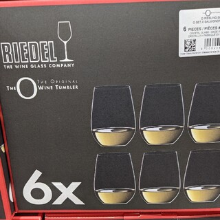 リーデル(RIEDEL)のRIEDEL  リーデル オー ワインタンブラー 6個セット(グラス/カップ)