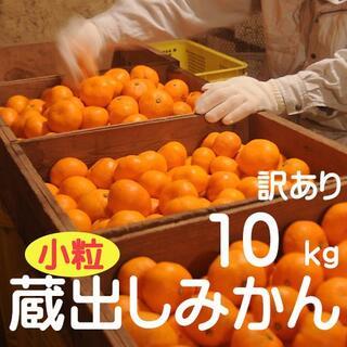 訳あり10kg・2S~4S小粒みかん♪(蔵出しみかん)和歌山県から農園直送!(フルーツ)