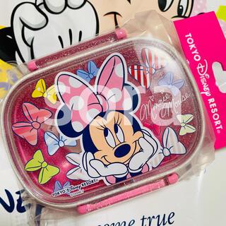 Disney - 新品☆ ミニー リボン 弁当箱 ランチボックス ディズニー
