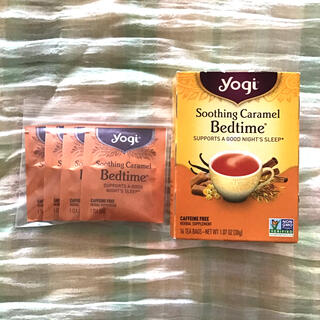 カルディ(KALDI)のyogi tea Soothing Caramel Bedtime(茶)