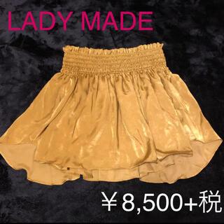 レディメイド(LADY MADE)の新品タグ付き☆LADY MADE レディメイド ミニスカート free(ミニスカート)