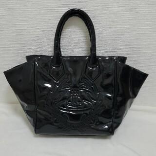 Vivienne Westwood - ヴィヴィアンウエストウッド エナメル ハンドバッグ 黒