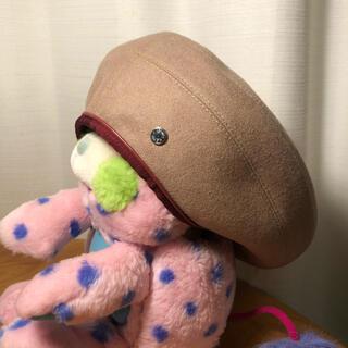 Hermes - エルメス  ベレー帽 ベージュ キャップ 帽子 サントノーレ