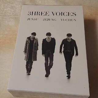 JYJ - 3HREE VOICES DVD