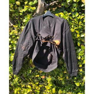ヴィヴィアンウエストウッド(Vivienne Westwood)の【70s.80s】バーン加工 ロンT  パンク  一点物(Tシャツ/カットソー(七分/長袖))