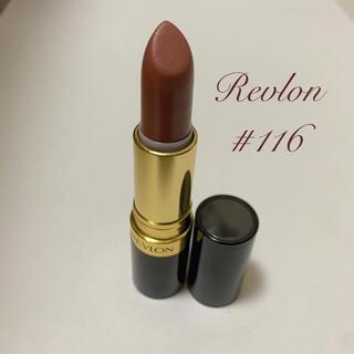 REVLON - レブロン スーパーラストラス リップスティック #116