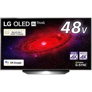 LG Electronics - LG 48型 4Kチューナー内蔵 有機EL テレビ OLED48CXPJA