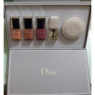 ディオール(Dior)のディオール ヴェルニ ネイルケアセット(ネイル用品)
