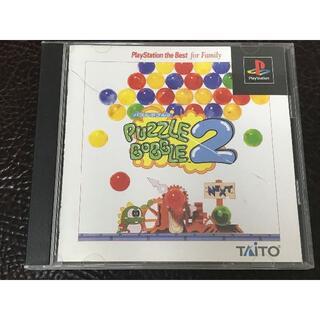 タイトー(TAITO)の★ 動作品 PS ★ パズルボブル 2 PUZZLE BOBBLE(家庭用ゲームソフト)