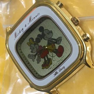 SEIKO - SEIKO ミッキー&ミニー 希少 二重面相 レトロ アナログ デジタル腕時計