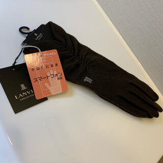ランバンコレクション(LANVIN COLLECTION)の【新品未使用】ランバン コレクション 手袋 スマホ対応(手袋)