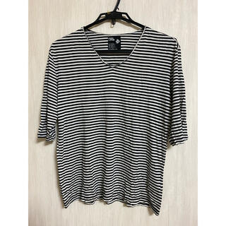 ピーピーエフエム(PPFM)のメンズボーダーTシャツ(Tシャツ/カットソー(半袖/袖なし))