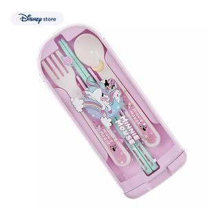 Disney - ディズニーストア ミニー ユニコーン カトラリーセット