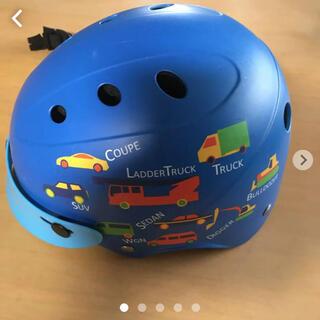 ブリヂストン(BRIDGESTONE)の子供用ヘルメット*ブリジストン 1歳から 青色(ヘルメット/シールド)