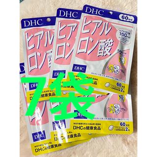ディーエイチシー(DHC)のDHC ヒアルロン酸 60日分 7袋 新品(その他)