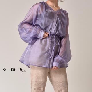 RETRO GIRL - 【今月まで】RETRO GIRL ems excite シアードロストシャツ
