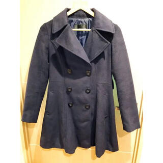 セシルマクビー(CECIL McBEE)のセシルマクビー リボンベルト付きAラインPコート(ピーコート)