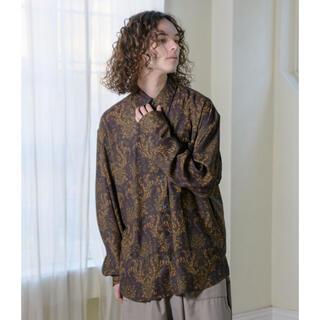LAD MUSICIAN - Rough Size Damask Pattern Shirts