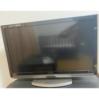 アクオス(AQUOS)のSHARP AQUOS40型(Blu-ray内蔵)(テレビ)