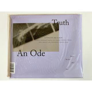 セブンティーン(SEVENTEEN)のSEVENTEEN セブチ AnOde Truth CD 開封済み(K-POP/アジア)