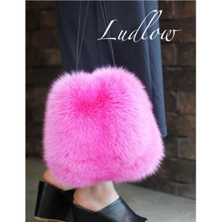 LUDLOW - LUDLOW ラドロー* FOX ファーバッグ