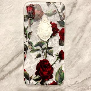 メゾンドフルール(Maison de FLEUR)の【新品未使用】candymeow petit cameo iPhone case(iPhoneケース)