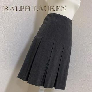 Ralph Lauren - 【中古美品】RALPH LAURENプリーツスカート❃グレー フォーマルスカート