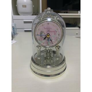 オーロラヒメ(オーロラ姫)のDisney/眠れる森の美女/オーロラ姫/置き時計/アナログ時計(置時計)