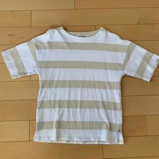 ヴァンキッシュ(VANQUISH)のVANQUISH 5分丈ボーダーシャツ(Tシャツ/カットソー(七分/長袖))