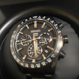 セイコー(SEIKO)の7%応援値下げ アストロン sbxc037 ブラックチタン 中古美品(腕時計(アナログ))