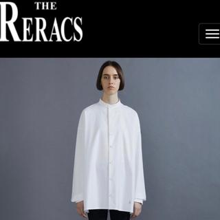 ハイク(HYKE)のTHE RERACS ザ・リラクス 19FW バンドカラードレスシャツ(シャツ/ブラウス(長袖/七分))