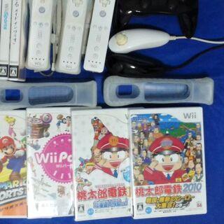 ウィー(Wii)の桃鉄 × 桃鉄 2個 ディスクの状態良い (携帯用ゲームソフト)