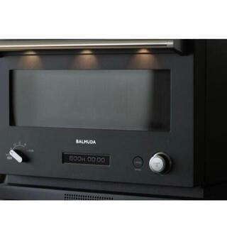 BALMUDA - 新品 未使用 未開封 バルミューダ オーブンレンジ K04A-BK 黒