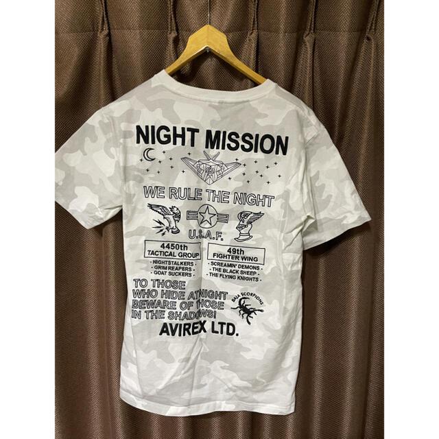 AVIREX(アヴィレックス)の☆AVIREX☆刺繍TEEシャツ メンズのトップス(Tシャツ/カットソー(半袖/袖なし))の商品写真