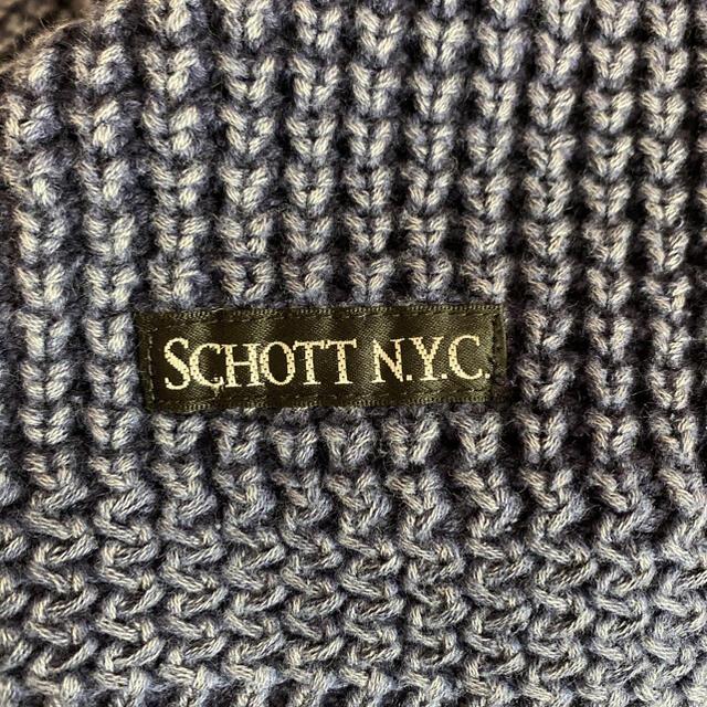 schott(ショット)のSchott ショット コットンニット メンズのトップス(ニット/セーター)の商品写真