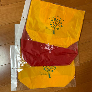 カゴメ(KAGOME)のエコバッグ 3個(軽い!薄い!丈夫!)(エコバッグ)