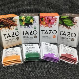TAZO tea タゾ★チャイ・アールグレイなど 紅茶・ハーブティー★スタバ(茶)