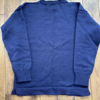 ヤエカ(YAECA)のルトリコチュール ガンジーセーター vintage(ニット/セーター)