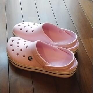 crocs - クロックス ピンク 25cm