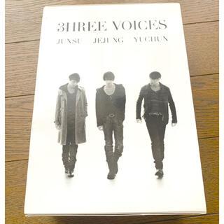JYJ - JUNSU/JEJUNG/YUCHUN / 3HREE VOICES〈4枚組〉