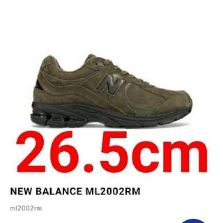ニューバランス(New Balance)の【26.5cm】新品未使用 new balance ML2002RM(スニーカー)